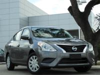 2018 Nissan Versa 1.6 S Plus 39/31 Highway/City MPG