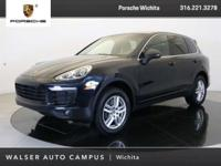 2018 Porsche Cayenne located at Porsche Wichita.