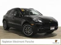 Clean CARFAX. Black 2018 Porsche Macan AWD 7-Speed