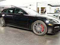 This Panamera Turbo Sport Turismo comes equipped with
