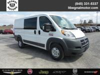 $3,000 off MSRP! 2018 Ram ProMaster 1500 Bright White