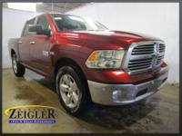 2018 Ram 1500 Big Horn Red Pearlcoat 4WD 8-Speed