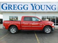 New Price! Red 2018 Ram 1500 Big Horn 4WD 8-Speed
