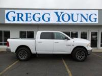 New Price! Bright White Clearcoat 2018 Ram 1500 Big