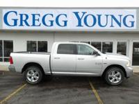 Silver 2018 Ram 1500 Big Horn 4WD 8-Speed Automatic