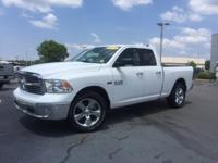 New Price! Clean CARFAX. Bright White Clearcoat 2018