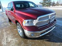Red Pearl 2018 Ram 1500 Laramie 4WD 8-Speed Automatic