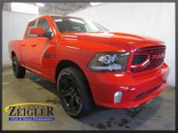 2018 Ram 1500 Sport Flame Red Clearcoat 4WD 8-Speed
