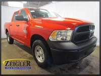 2018 Ram 1500 Tradesman Flame Red Clearcoat 4WD 8-Speed