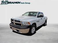 Bright White Clearcoat 2018 Ram 1500 Tradesman 4WD