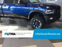 Blue Streak Pearl Coat exterior, Power Wagon trim. 4x4,