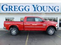 Flame Red Clearcoat 2018 Ram 2500 Big Horn 4WD 6-Speed
