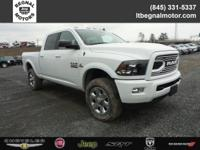 $2,750 off MSRP! 2018 Ram 2500 Bright White Clearcoat