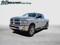 Bright White Clearcoat 2018 Ram 2500 Big Horn 4WD