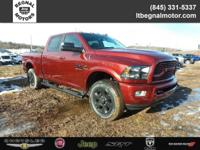 $2,750 off MSRP! 2018 Ram 2500 Red Big Horn 4WD 6-Speed