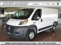 Options:  2018 Ram Promaster 1500 Low Roof 136Wb|Fresh