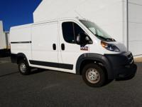 Bright White Clearcoat 2018 Ram ProMaster 1500 Low Roof