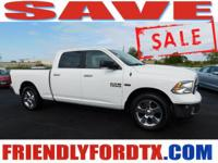 Big Horn Hemi 5.7L V8 Engine Crew Cab  Options: