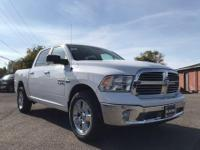 Options:  2018 Ram 1500 Big Horn Crew Cab 4X4 5'7