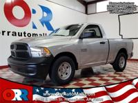 2018 Ram 1500 Tradesman Silver  Options:  3.21 Rear