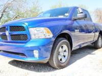 Purchase this amazing BRAND NEW bright blue 2018 Ram