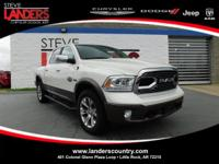 CARFAX One-Owner. Pearl White 2018 Ram 1500 Laramie