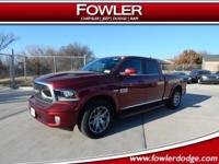 $10,450 off MSRP!  2018 Ram 1500 Limited 4D Crew Cab