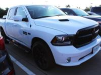 CARFAX One-Owner. Bright White Clearcoat 2018 Ram 1500