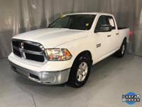 Bright White Clearcoat 2018 Ram 1500 SLT RWD 8-Speed