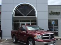 CARFAX One-Owner. Clean CARFAX. Certified. Red 2018 Ram