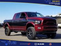 Red 2018 Ram 2500 Big Horn 4WD 6-Speed Automatic