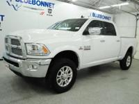 *Rule the roads in this bright white LIKE NEW 2018 Ram