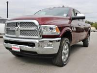 Turn heads in this LUXURIOUS deep red 2018 Ram 2500