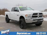 LIFT KIT!!. CARFAX One-Owner. Bright White Clearcoat
