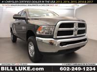 Crystal Metallic 2018 Ram 2500 Tradesman 4WD 6-Speed