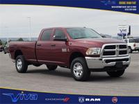 Red 2018 Ram 2500 Tradesman 4WD 6-Speed Automatic