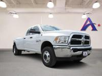 Bright White Clearcoat 2018 Ram 3500 Tradesman 4WD