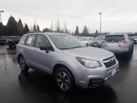 2018 Subaru Forester Ice Silver Metallic 2.5i It's our