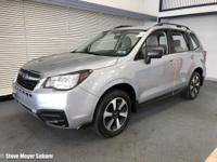 ONE OWNER SUBARU CERTIFIED PRE-OWNED FORESTER 2.5I!