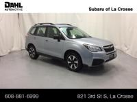 2018 Subaru Forester 2.5i Certified. CARFAX One-Owner.