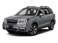 2018 Subaru Forester 2.5i Limited AWD Lineartronic CVT
