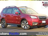 Certified, Sunroof/Moonroof, Forester 2.5i Premium,