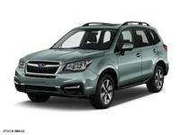 2018 Subaru Forester Jasmine Green Metallic 2.5i