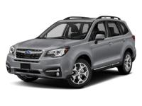 2018 Subaru Forester Crystal Black 2.5i Touring 2.5L