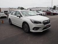 2018 Subaru Legacy Crystal White Pearl 2.5i 2.5L
