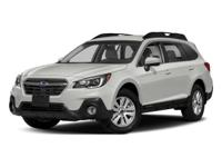 Delivers 32 Highway MPG and 25 City MPG! This Subaru