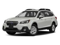 2018 Subaru Outback Twilight Blue Metallic 2.5i 2.5L