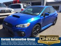 **ONE OWNER**, **LOCAL TRADE**, **AWD**, WRX Premium,