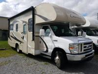 New Class C Drivable RV..... Front living floorplan