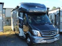 Class C Drivable RV with Mercedes chassis....Front